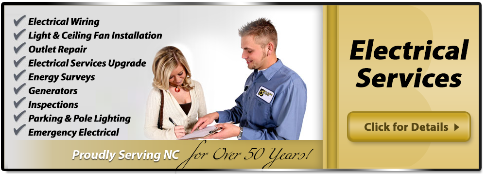 Raleigh and Durham Electrical Services & Repairs